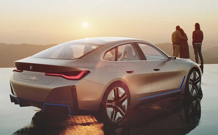 宝马i4概念车将于北京车展首发亮相 最大功率530Ps