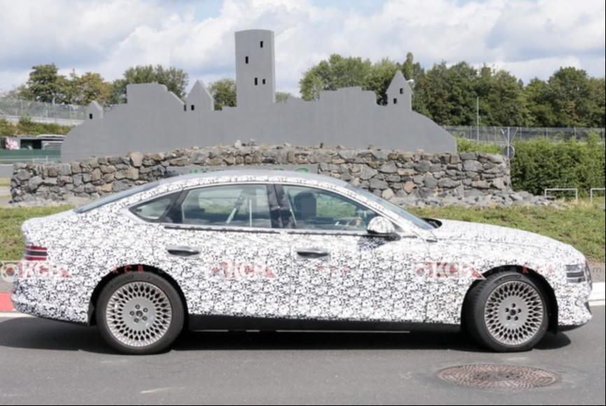 捷尼赛思G80电动版车型最新谍照曝光 有望2022年上半年发布