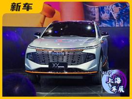 2021上海车展:哈弗旗舰SUV概念车正式发布 定名XY