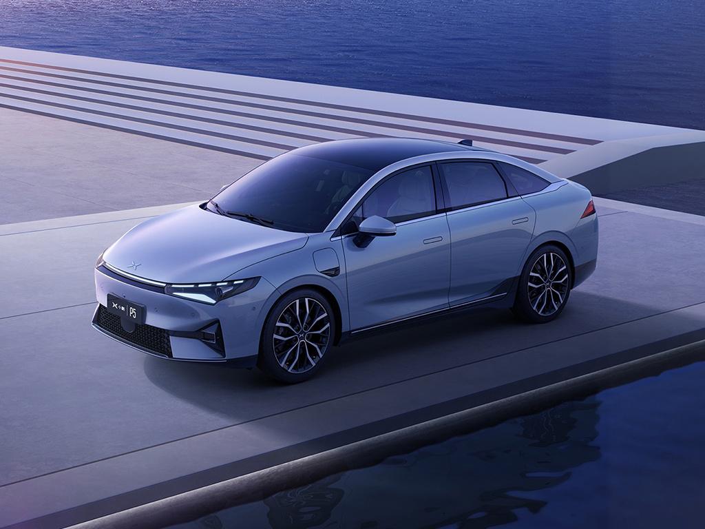 小鹏P5预订53小时订单数破万 成家族最热门车型