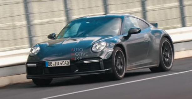 保时捷911 Sport Classic谍照 或将采用3.8L发动机