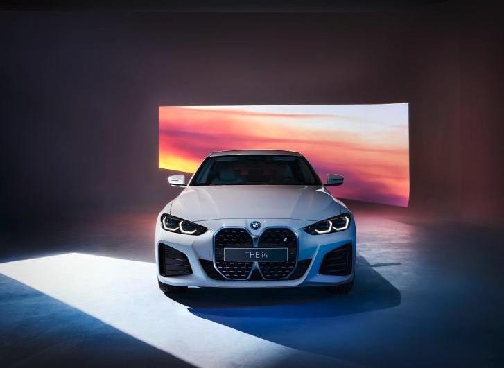 搭载第五代BMW eDrive电力驱动技术 宝马i4 M运动套件版官图发布