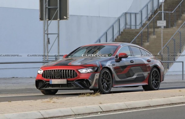 梅赛德斯AMG GT 73e路试谍照曝光 采用全新设计