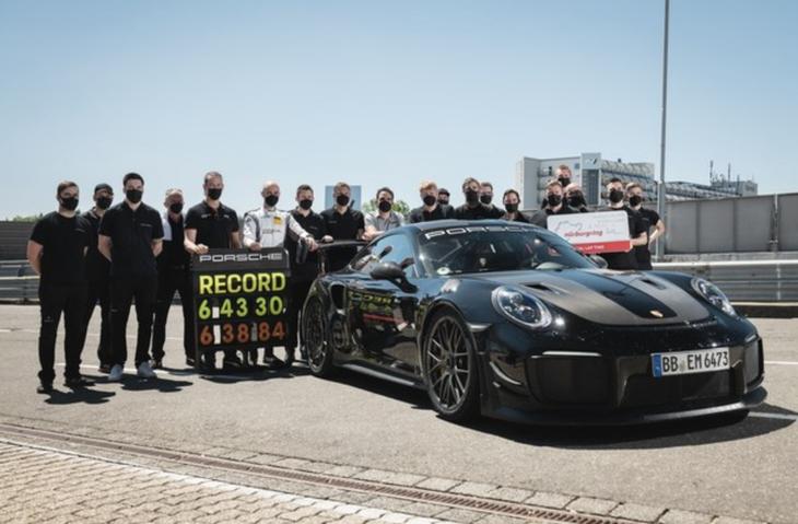 保时捷911 GT2 RS永远的神 再破纽北圈速记录