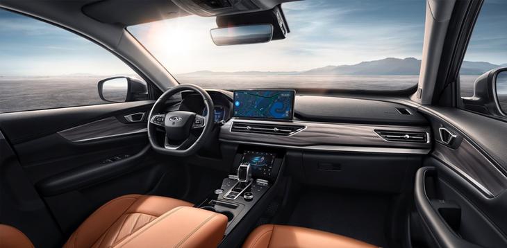 奇瑞瑞虎8鲲鹏版将今晚上市 搭2.0T发动机 百公里加速7.5s插图3