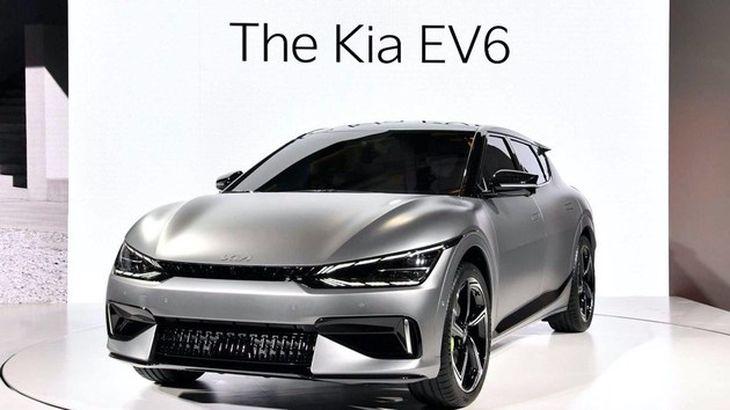 起亚EV6官图发布 充电4.5分钟即能增加100km的续航里程插图