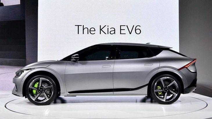 起亚EV6官图发布 充电4.5分钟即能增加100km的续航里程插图1