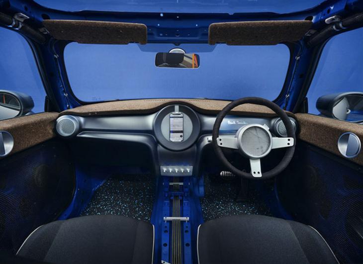 全球一台/裸露框架,MINI发布与时装设计师合作款车型插图4
