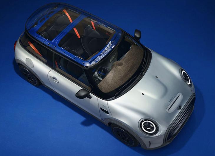 全球一台/裸露框架,MINI发布与时装设计师合作款车型插图3