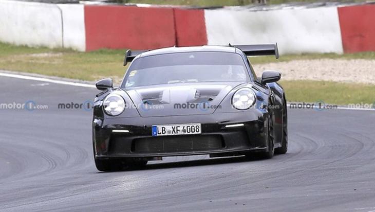 保时捷911 GT3 RS最新路试谍照曝光 有望今年末正式亮相